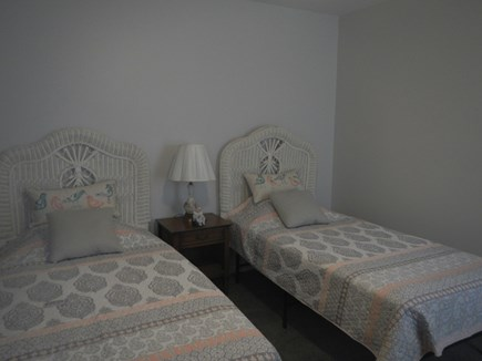 Dennis Cape Cod vacation rental - 2nd bedroom with twin beds convertible to King or 1 twin/1 full