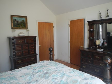 Dennis Cape Cod vacation rental - Master bed with queen, including a attached bathroom.