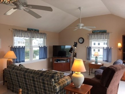 Dennis Cape Cod vacation rental - 2nd floor living room alternate view