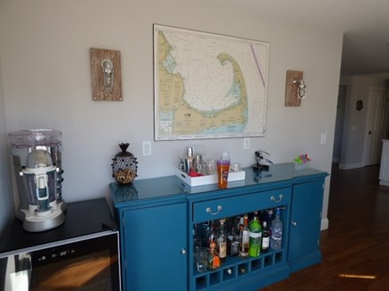 East Dennis Cape Cod vacation rental - Bar area next to kitchen