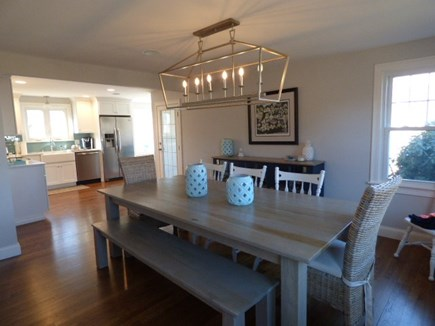East Dennis Cape Cod vacation rental - Beautiful dining area next to Kitchen