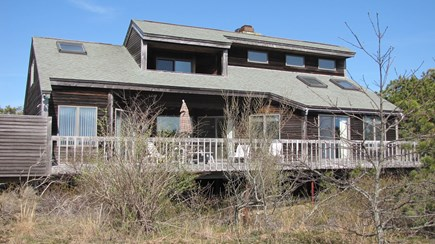 Truro Cape Cod vacation rental - House Faces the Bay