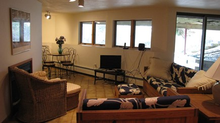 Truro Cape Cod vacation rental - Lower Level Family Room