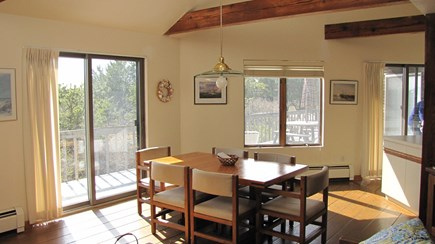 Truro Cape Cod vacation rental - Dining with a View