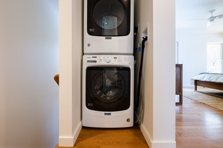 Provincetown Cape Cod vacation rental - Brand new stacked washer and dryer on second floor