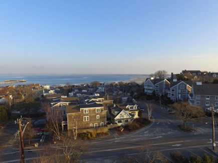 Provincetown Cape Cod vacation rental - Aerial view of West Vine toward Dog Beach - 5 min walk