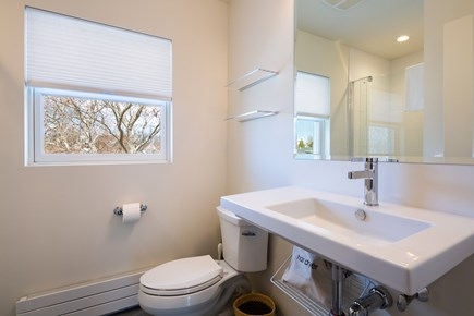 Provincetown Cape Cod vacation rental - Upper level full bath with stand up shower