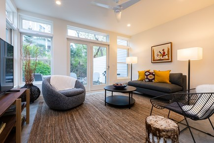Provincetown Cape Cod vacation rental - Bright and spacious main living area with access to private patio