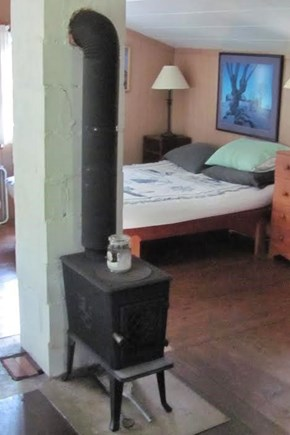 Eastham Cape Cod vacation rental - Functional wood stove
