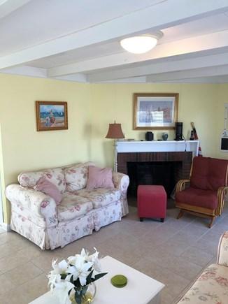 Mashpee, Popponesset Beach Cape Cod vacation rental - Plenty of seating inside or outside.