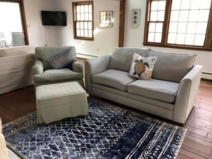 Falmouth Cape Cod vacation rental - Sitting Room with double pull out couch