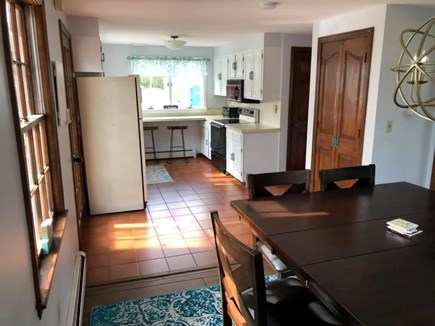 Falmouth Cape Cod vacation rental - Open floor plan: kitchen opens into dining room