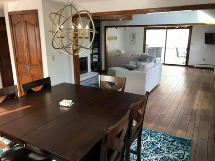 Falmouth Cape Cod vacation rental - Open floor plan: dining room, sitting room and living room