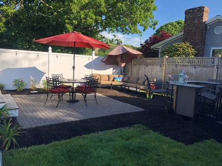 West Yarmouth Cape Cod vacation rental - Relax after a day at the beach in this beautiful backyard