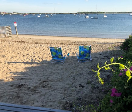 West Yarmouth Cape Cod vacation rental - Beautiful waters of Lewis Bay, private beach 160 steps from house