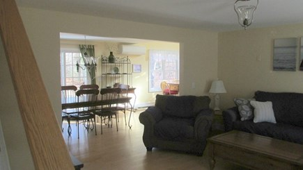Eastham Cape Cod vacation rental - Living Area to Dining Room