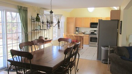Eastham Cape Cod vacation rental - Dining and Kitchen Area