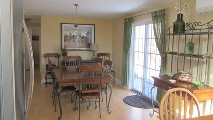 Eastham Cape Cod vacation rental - Dining Area with Slider to Back Deck