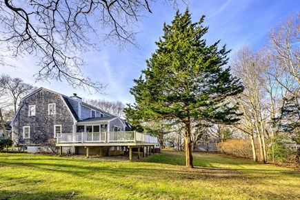 East Sandwich Cape Cod vacation rental - Side View of home