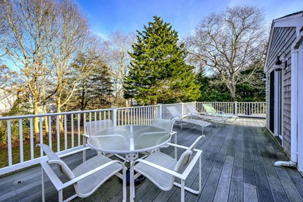 East Sandwich Cape Cod vacation rental - Large Deck for outdoor entertaining
