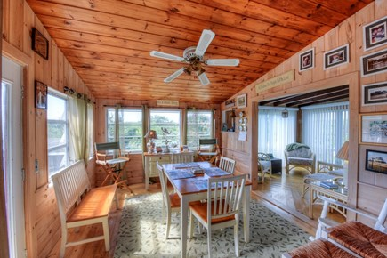 East Sandwich Cape Cod vacation rental - Sunroom off of Kitchen
