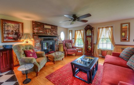 East Sandwich Cape Cod vacation rental - Spacious Living room