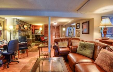 East Sandwich Cape Cod vacation rental - Lower Level Den