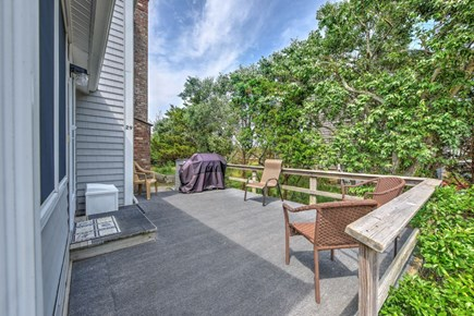 East Sandwich Cape Cod vacation rental - Spacious wrap around deck