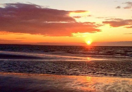 Eastham Cape Cod vacation rental - Gorgeous Cape Cod bay sunset #2