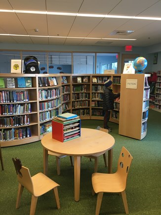 Eastham Cape Cod vacation rental - The children's section at the newly renovated Eastham Library.