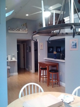 Hyannis-West Hyannis Port Cape Cod vacation rental - Dining area and Kitchen Everything you need. High Chair/Booster