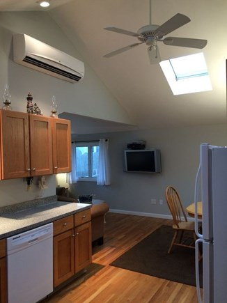 Dennis Port Cape Cod vacation rental - Living room with Flat screen TV and air conditioning