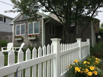 Dennis Port Cape Cod vacation rental - Front with off-street parking for 3 cars