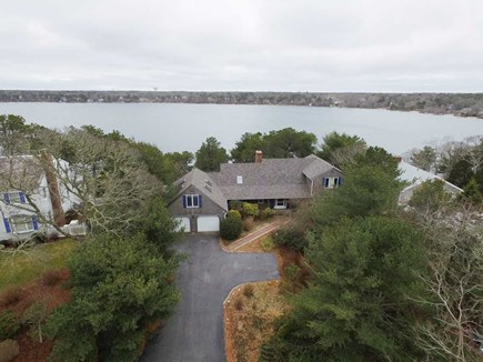 Harwich Cape Cod vacation rental - Ariel View of House