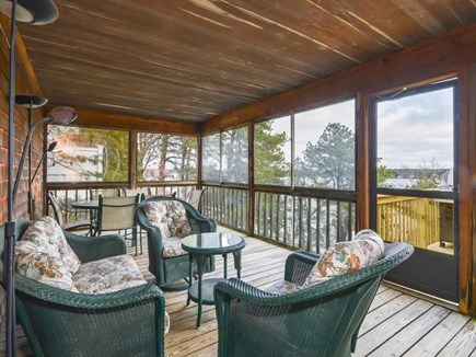 Harwich Cape Cod vacation rental - Screened In Porch