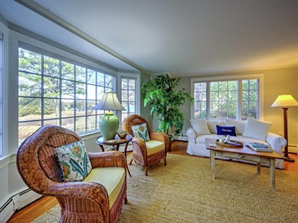 North Chatham Cape Cod vacation rental - Front Living Room