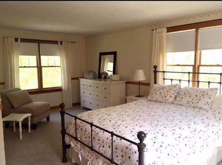 West Falmouth/Old Silver Beach Cape Cod vacation rental - Master bedroom