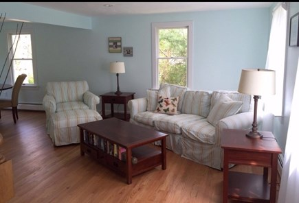West Falmouth/Old Silver Beach Cape Cod vacation rental - Second living room on the main floor.