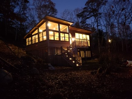 Woods Hole Woods Hole vacation rental - House in the fall - a beautiful time to visit.