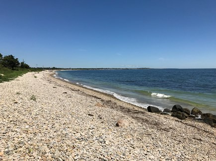 Woods Hole Cape Cod vacation rental - Quick walk to this beach, with a sandy ocean bottom.