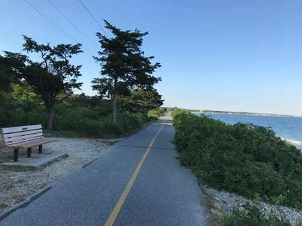 Woods Hole Cape Cod vacation rental - This ten mile bikeway is steps from our house.
