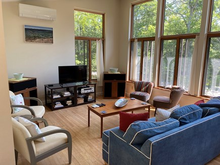 Woods Hole Cape Cod vacation rental - Great sounding speakers; TV (no cable, but can stream)