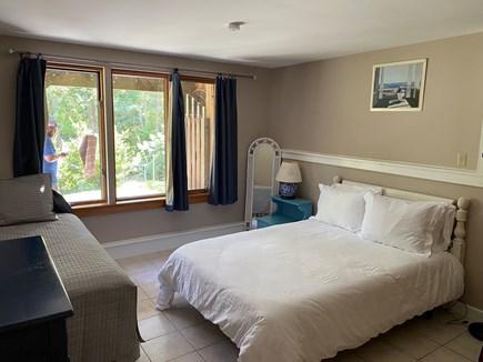 Woods Hole Cape Cod vacation rental - First floor bedroom with a door