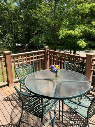 Woods Hole Cape Cod vacation rental - Front deck
