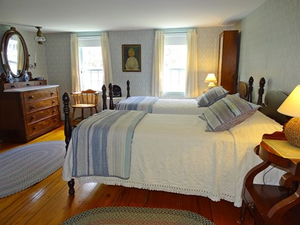 South Yarmouth Cape Cod vacation rental - OH  - Master Bedroom Upstairs  large twin beds 458