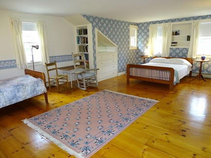 South Yarmouth Cape Cod vacation rental - OH B & B bedroom Upstairs Queen and single  456