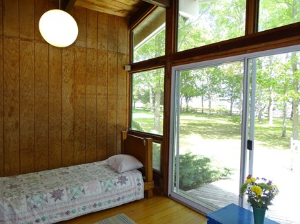 South Yarmouth Cape Cod vacation rental - Baby Boat Hse -  showing slider to yard 611