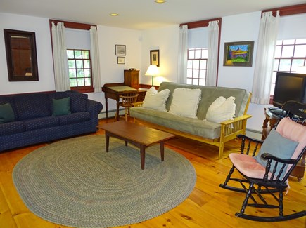 South Yarmouth Cape Cod vacation rental - OH Red room living room with flat screen TV 447