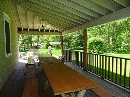 South Yarmouth Cape Cod vacation rental - OH -Expansive area for everyone to gather for outdoor dining  537