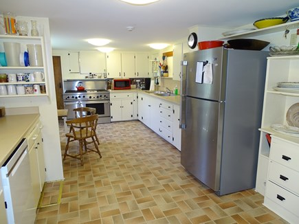 South Yarmouth Cape Cod vacation rental - OH kitchen with new stainless-steel appliances 524